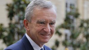 Le patron du groupe de luxe LVMH, Bernard Arnault, le 5 septembre 2012