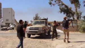Libye : miliciens à Tripoli