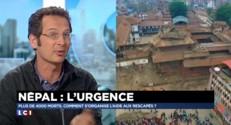 """Séisme au Népal : """"On peut avoir des répliques de fortes magnitudes"""""""