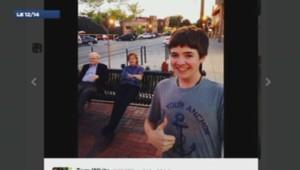 Selfie avec Paul McCartney et Warren Buffet