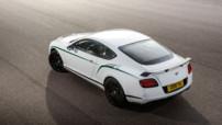 Bentley Continental GT3-R, version inspirée de la compétition, au moteur V8 580 ch et au poids allégé à 2,2 tonnes, révélé en juin 2014