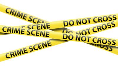 fait divers do not cross scène de crime délit meurtre police