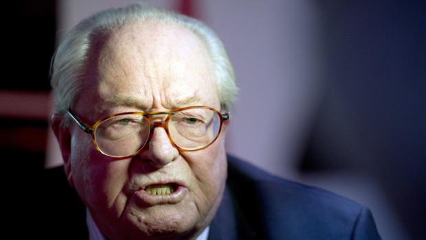 Jean-Marie Le Pen, le 25/1/15