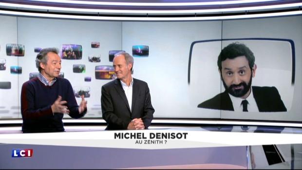Michel Denisot dément la rumeur d'une coproduction avec Cyril Hanouna