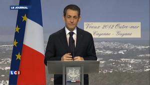 Sarkozy tacle Hollande depuis la Guyane