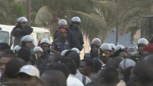 Sénégal : manifestation à Dakar, 31/1/12