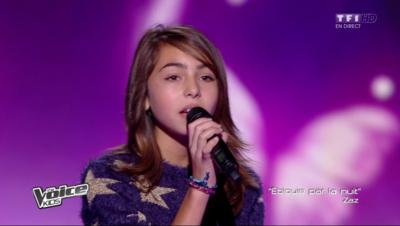 Carla, la gagnante de la première édition de The Voice Kids