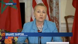 """Hillary Clinton dénonce un film anti-islam """"répugnant et condamnable"""""""