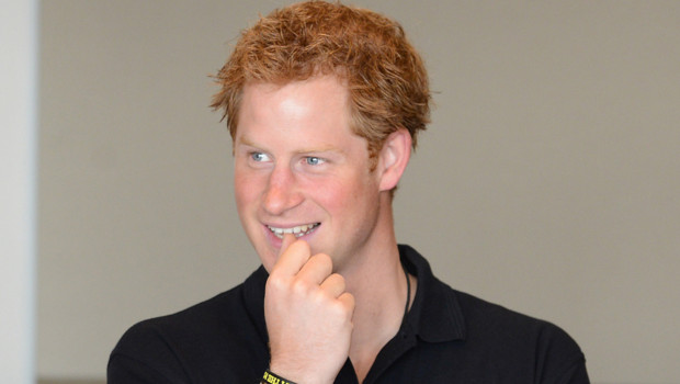 Le prince Harry lors d'une session d'entraînement des Invictus Games, UK 8 septembre 2014