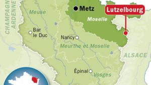 Lutzelbourg, carte de situation