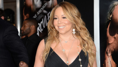 Mariah Carey à Hollywood en juillet 2014