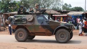 Sangaris centrafrique armée française