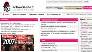 TF1-LCI Le site internet du Parti Socialiste