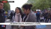 """Formule E à Paris : quand """"la fiction devient réalité"""" pour les passionnés"""