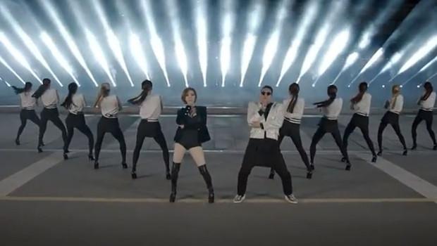 """""""Gentleman"""", le nouveau clip de Psy après """"Gangnam Style"""", dévoilé le 13 avril 2013."""