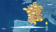 La météo du dimanche 31 juillet : temps mitigé sur l'ensemble du pays, risques d'orages dans le sud-est