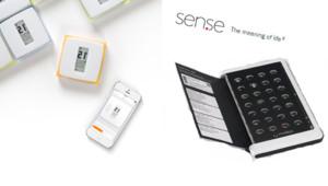 Le thermostat connecté de Netatmo dessiné par Philippe Starck, le pilulier Medipac de Medissimo et un objet mystère de Sen.se