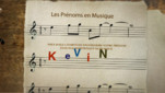 Les prnoms en musique - Kvin
