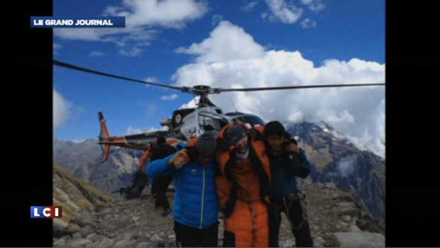 Népal : la plupart des victimes de l'avalanche sont françaises