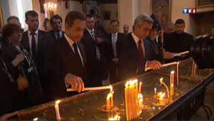 Sarkozy en Arménie pour rendre hommage aux victimes du génocide