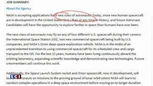 Sur le Pôle Emploi américain, la Nasa poste une annonce pour aller sur Mars !