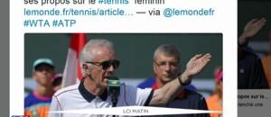 Tennis : après ses propos sexistes, le patron du tournoi Indian Wells démissionne
