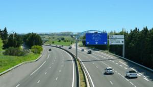 Une autoroute française (image d'illustration)