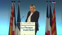 """Après les attentats, """"le nouveau monde"""" de Marine Le Pen"""