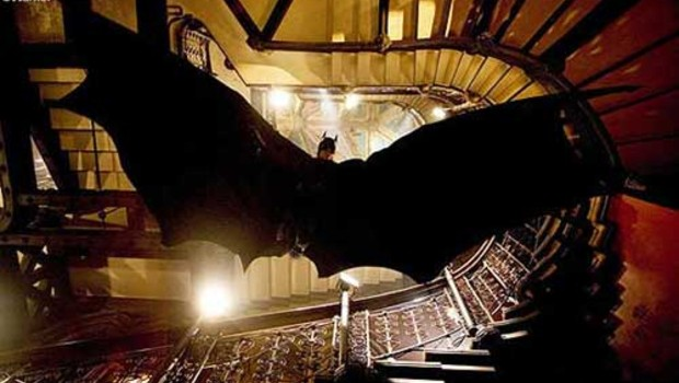 Batman Begins de Christopher Nolan. Avec Christian Bale.