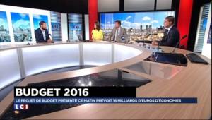 """Budget 2016 : + 8.300 fonctionnaires, """"c'est plutôt un engagement politique"""""""