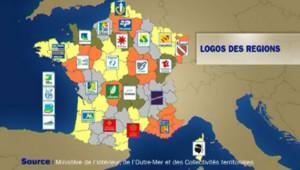 logo régions plaques immatriculation
