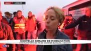 """""""On veut le retrait de la loi El Khomri"""" : les postiers bloquent une plateforme de tri près de Lille"""