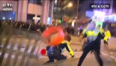 """À Hongkong, la """"révolution des boulettes de poisson"""" tourne à l'émeute"""