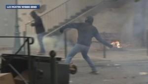 Affrontements à Bastia en Corse