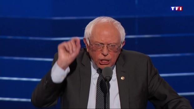Convention démocrate : Bernie Sanders appelle à voter Hillary Clinton