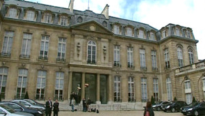 Elysée Présidence Nicolas Sarkozy