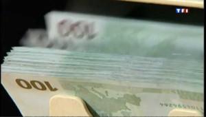 euros euro billets argent