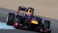 F1 Essais Jerez - 5 février 2013 - Webber Red Bull