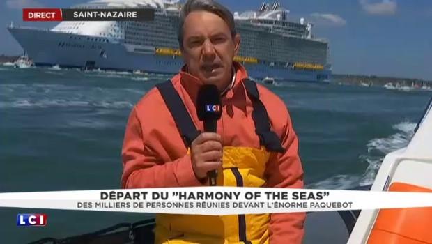 Harmony of the seas : le plus grand paquebot du monde quitte Saint-Nazaire