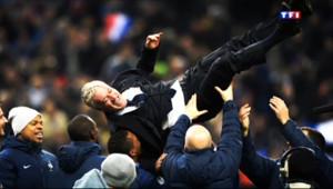 """Le 20 heures du 20 novembre 2013 : Didier Deschamps : """"Vous avez �it votre histoire les gars, bravo !"""" - 459.59080841064457"""