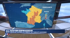 Vigilance aux orages : la préfecture de Tarn-et-Garonne active le centre de gestion de crise