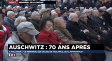 """Auschwitz : """"Les Juifs vivent encore dans la douleur"""" déclare Hollande"""