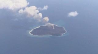Au Japon, une île apparue mystérieusement continue de grandir