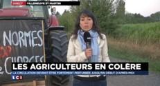 """Journée d'action : """"Trop de normes, trop de charges"""", les agriculteurs approchent de Paris"""