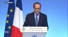 """""""Le paiement des amendes, procédure très agréable"""" ironise Hollande"""