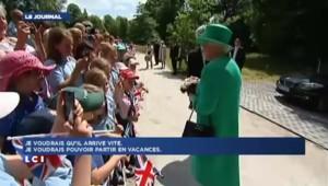 Pour la reine Elizabeth II, une naissance rapide et des vacances