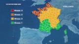 Vents violents : 12 départements en alerte orange dimanche