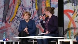 Angela Merkel souhaite lutter contre le Front national, Marine Le Pen s'insurge