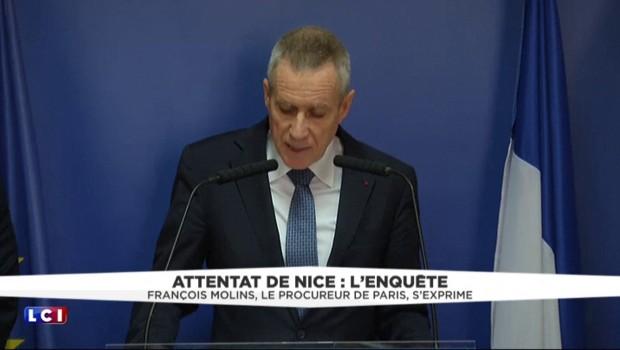 """Attentat de Nice : """"Lahouaiej Bouhlel a bénéficié de soutien et de complicité"""""""