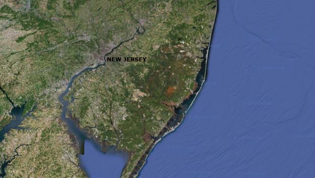 Carte du New Jersey